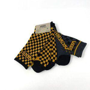 Vans Mens Socks 2 Pack Golden Spice 19